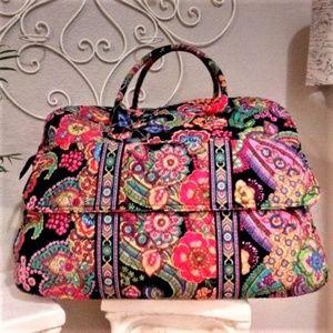 Vera Bradley Large Duffle Travel Bag